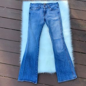 7 For All Mankind | A Pocket Light Wash Jeans